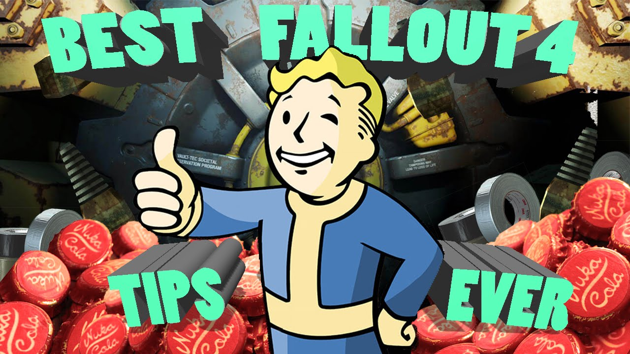 Fallout 4 Best Tips Ever! Level Up Fast! Get Tons Of Caps and Unlimited  Free Adhesive