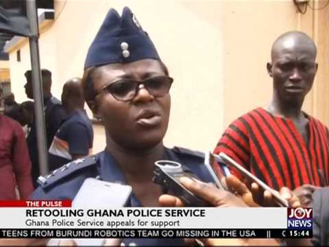 Retooling Ghana Police Service - The Pulse on JoyNews (21-7-17)