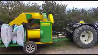 75 metre Fındık Toplama Hazelnut harvester machine H 2200