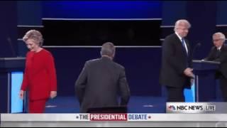 Poor debate guy |Donald trump| Hillary Clinton| presidential Race