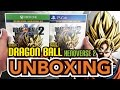 Dragon Ball Xenoverse 2 Day One Edition PS4 Xbox One Unboxing