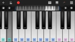 Sairat jhala ji song on Piano