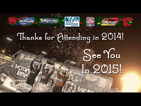 Seasons Greetings from the World of Outlaws and DIRTcar Racing!
