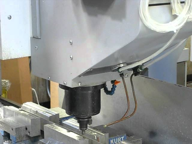 Haas Gantry Router With Unist MQL System