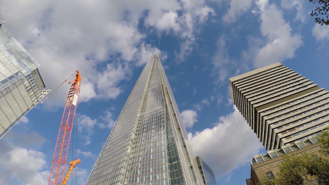 Download London 4K - Skyscrapers District Drive - City of London