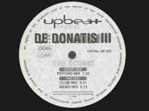 De Donatis III - The Sound - Psycho mix