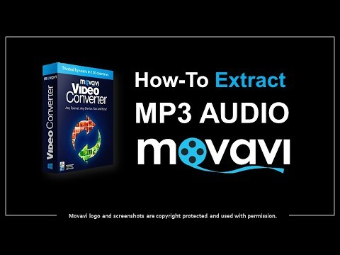 How to Extract MP3 Audio from MP4 Video in Movavi
