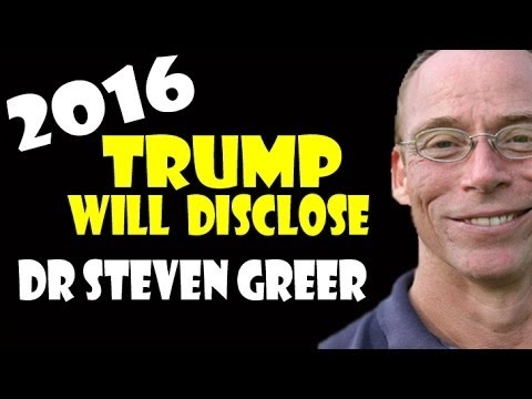 "Dr Steven Greer ""Trump will Disclose"" 2016 (NEW)"