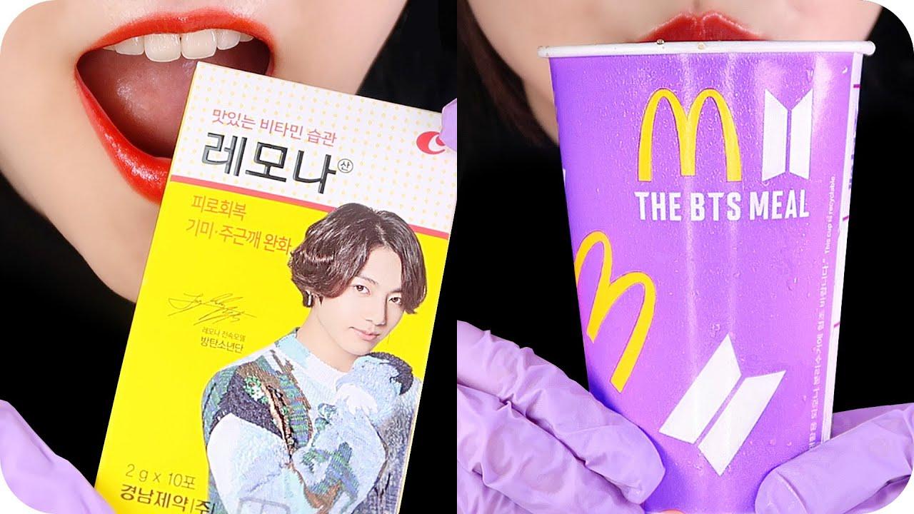 BTS FOOD ASMR COMPILATION 😍