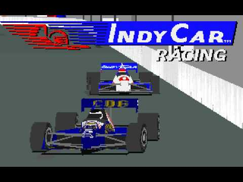 Indycar Racing  DOS Intro Video 1993  YouTube