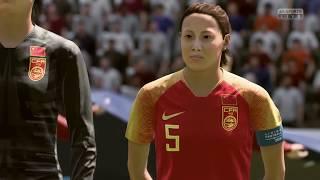 Coupe Du Monde Féminine 2019 Groupe B Allemagne VS Chine 8 Juin 2019 Sur Fifa 19