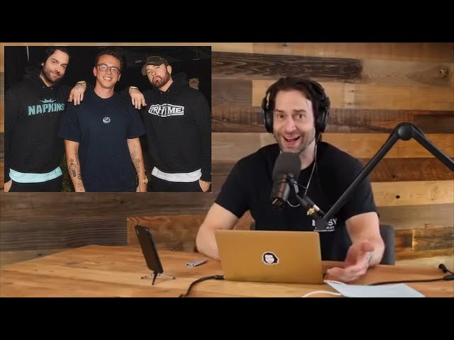 Chris DElia Reacts to Being On Logic - Homicide (feat. Eminem)
