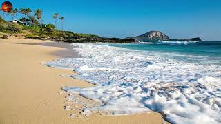 SAKİNLEŞTİRİCİ DALGA SESİ RAHATLATICI SU SESİ, OCEAN SEA WAVES, DALGA SESLERİ DİNLENDİRİCİ MÜZİK