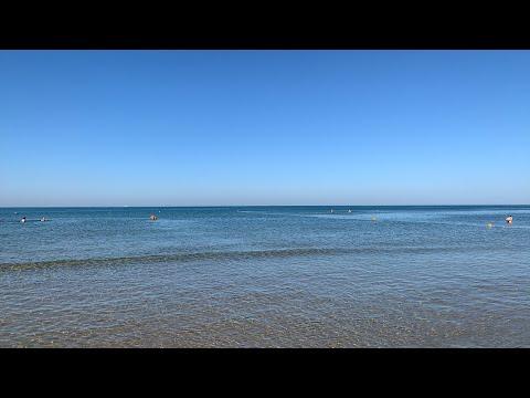 #Анапа. Пляж Родник в #Джемете. Море просто супер!! 1.09.2019