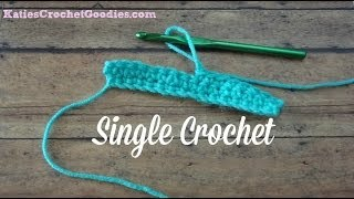 Single Crochet Stitch - Learn to Crochet Video #5