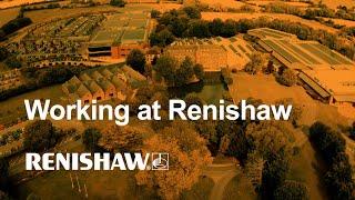 Working at Renishaw
