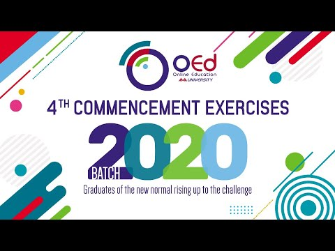 OEd Graduation Ceremony 2020