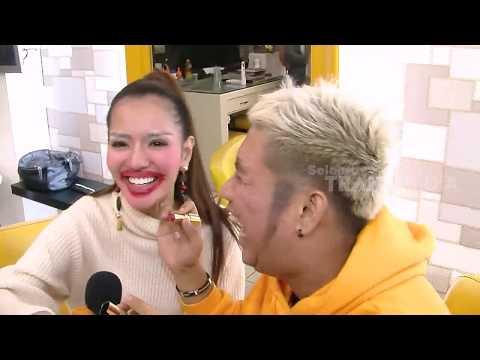 Make Up Challenge Evelyn & Anggia Chan | SELEBRITA PAGI (20/04/19)