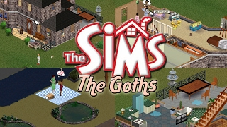 The Sims 1 - Goth Family Gameplay (2017)