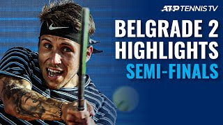 Djokovic, Delbonis Lead Final Four in Serbia   Belgrade Open 2021 Semi-Final Highlights