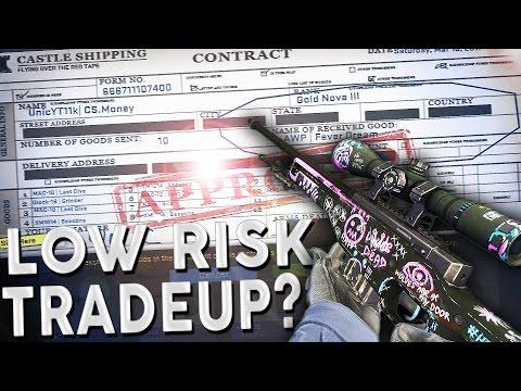 CS:GO - Low Risk Spectrum Case Tradeup! #31 (Awp Fever Dream Tradeup +Showcase)
