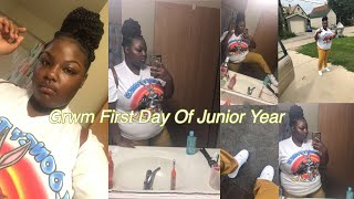 GRWM first day of school junior year