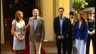 Middletons leave after Royal wedding celebrations