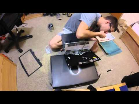 How To Replace Laptop Screen Alienware 17