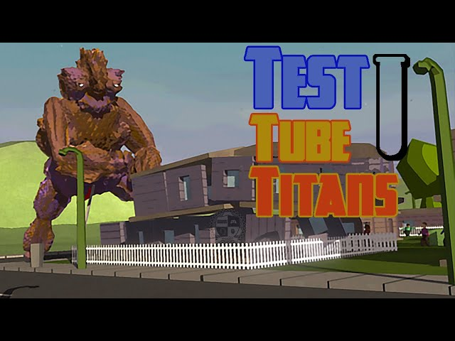 TEST TUBE TITANS Gameplay