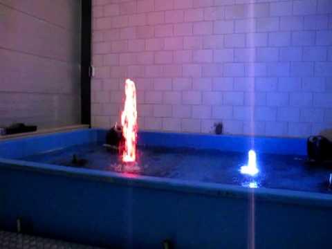 computergestuurde fonteinen met ledverlichting - YouTube
