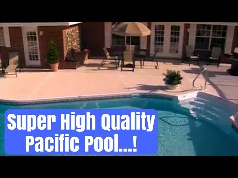 Country Club Pools installs quality Pacific Pools
