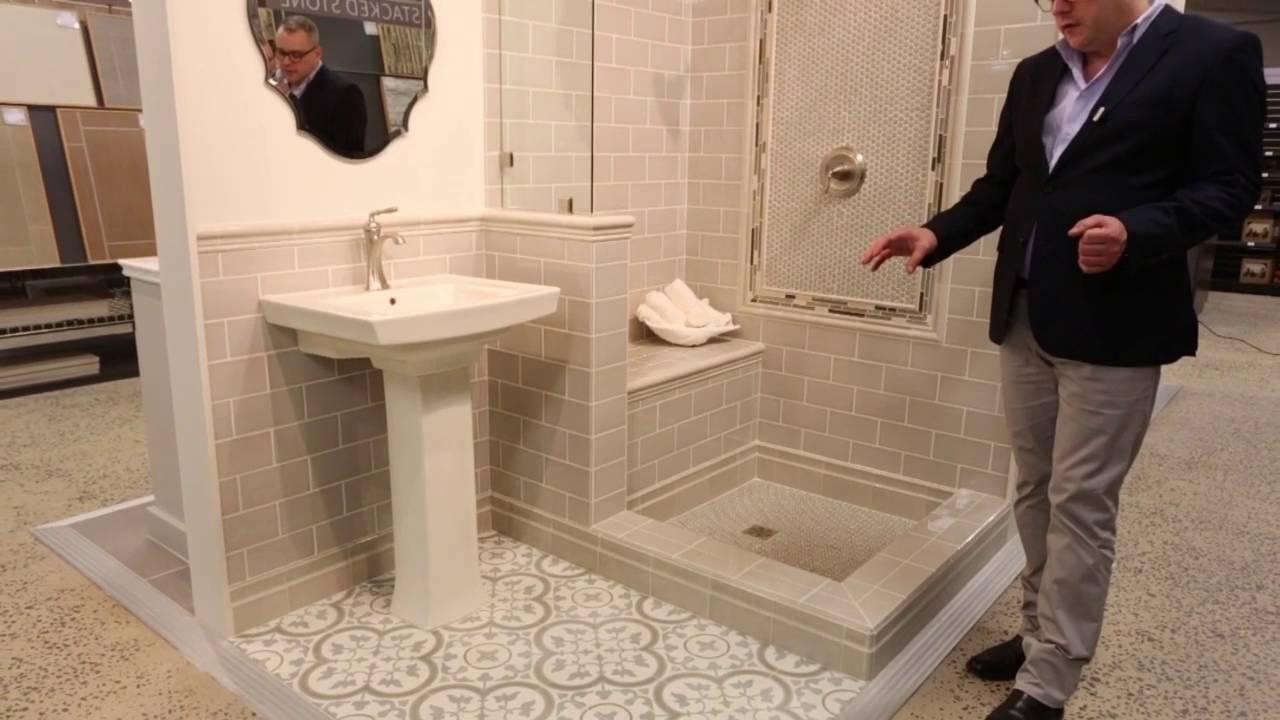 bathroom tile ideas neutral tone wall floor tile designs