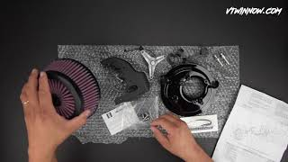Product Unboxing - Harley-Davidson Screaming Eagle Performance Air Cleaner Kit