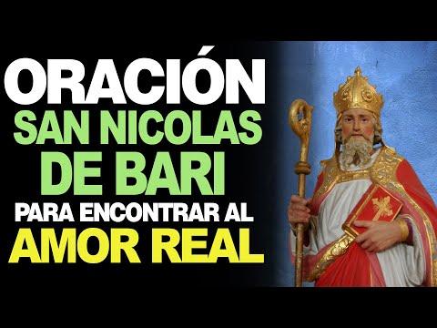 🙏 Oración a San Nicolás de Bari PARA CONSEGUIR AMOR - 100% Efectiva 💖