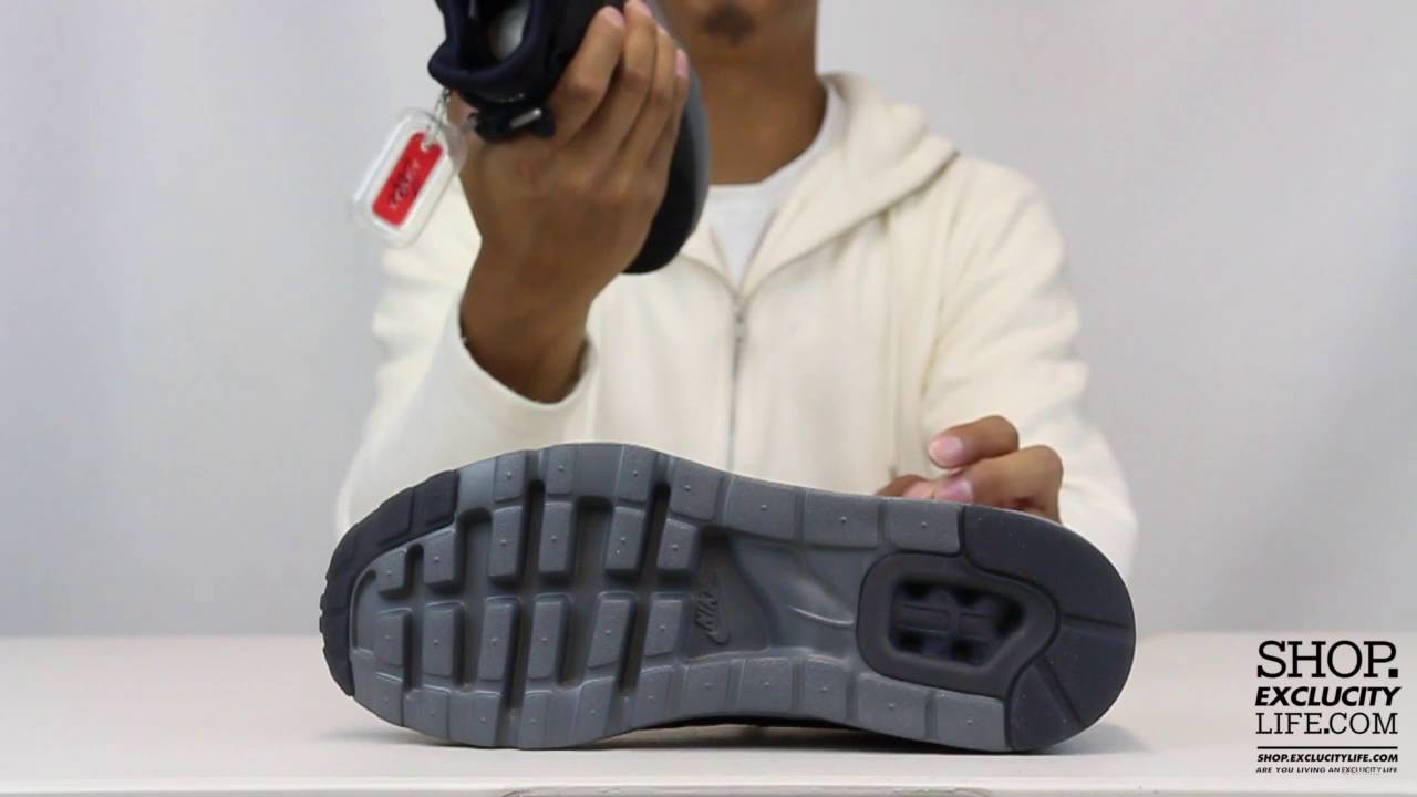 Nike Air Max Zero QS Black Anthracite Unboxing Video at Exclucity