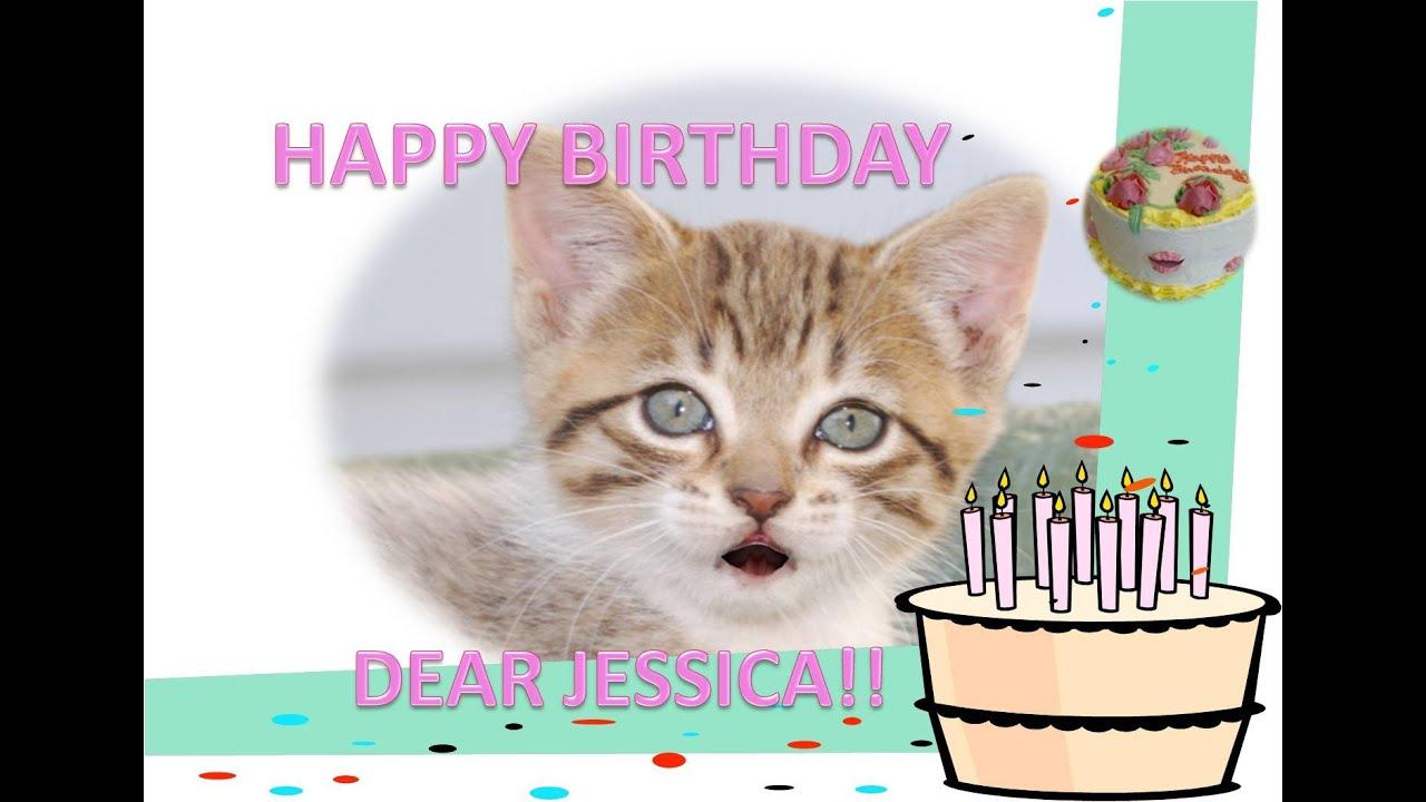 dear jessica happy birthday youtube
