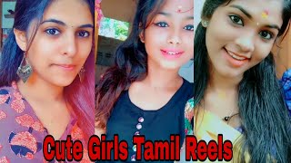 Tamil cute girls reels collection | Tamil dancing queens