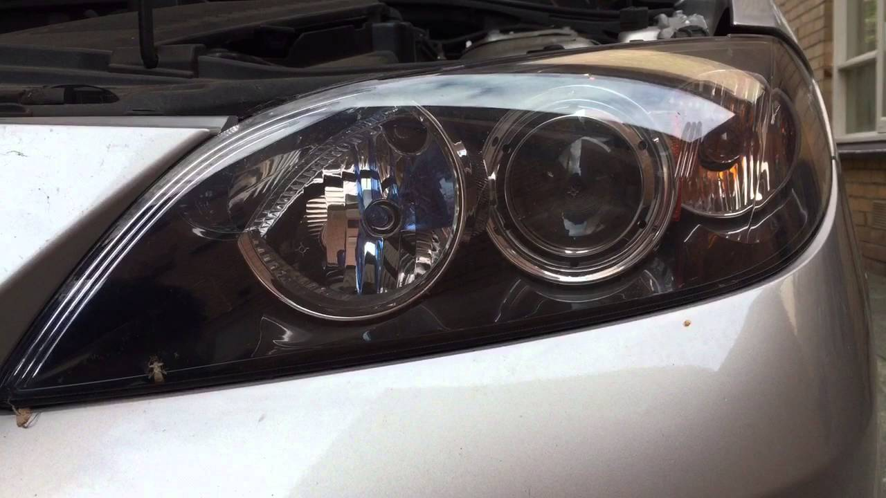 2007 Mazda 3 Replace High Beam Globe Bulb