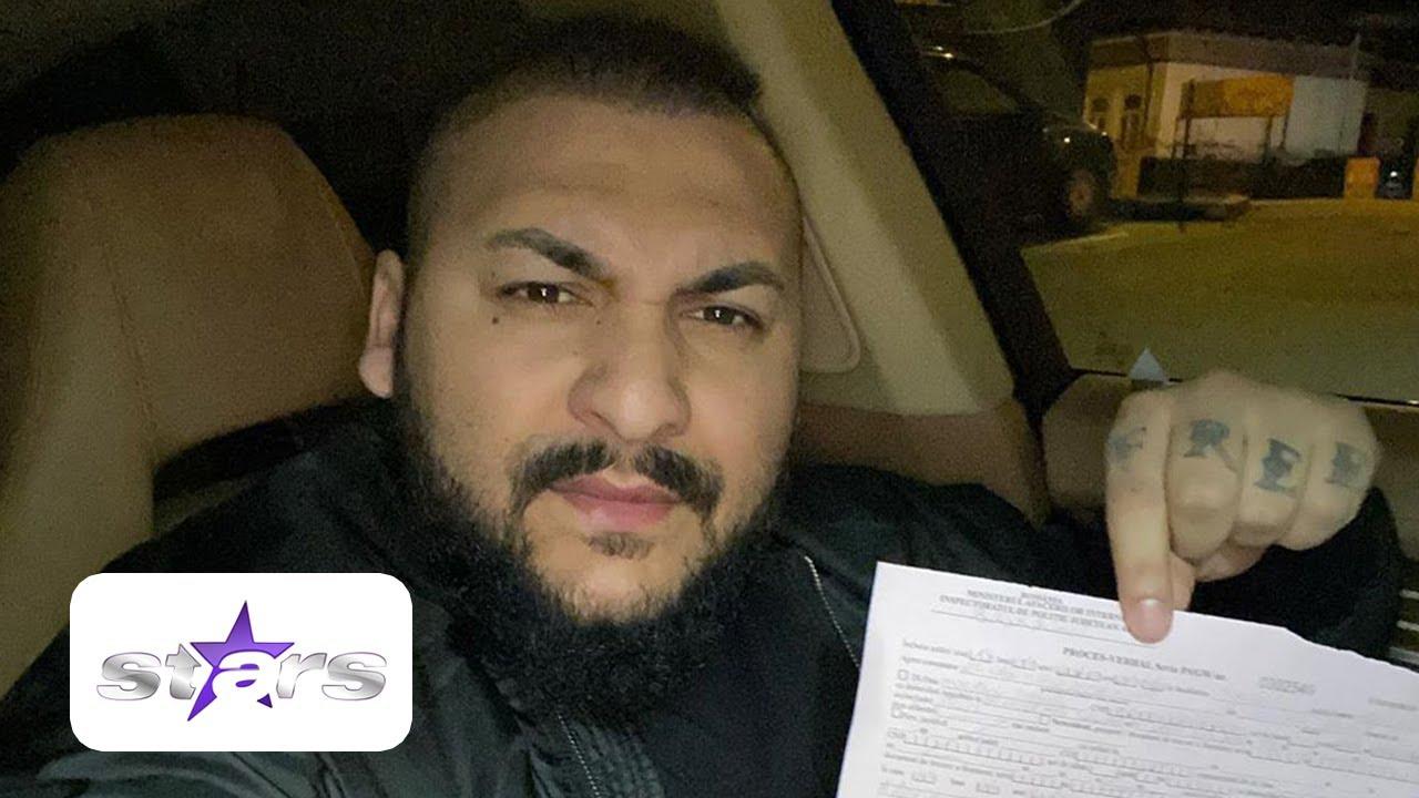 Dani Mocanu a dat din nou de belea! Artistul a fost amendat de poliţie