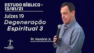 Estudo Bíblico - 19h30 - 13/01/2021