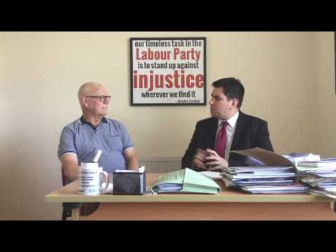Labour Leadership Election: Striking Miner Les Wigglesworth and Richard Burgon MP