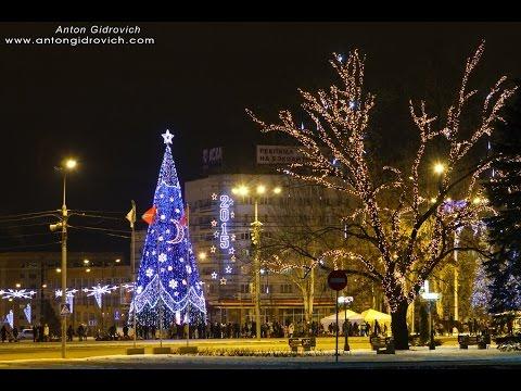 Новый Год - Рождество, ёлка в Донецке 2015 г