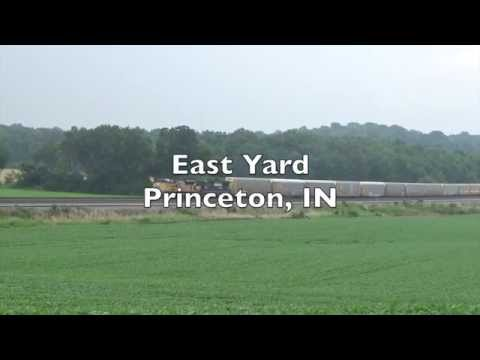 The Real Thing: Two westbounds arrive at Princeton Yard