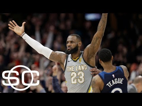 LeBron James among best buzzer-beaters of the 2017-18 NBA season