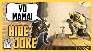 Hide and Joke in the NEW Cheshire Park Map in Modern Warfare!