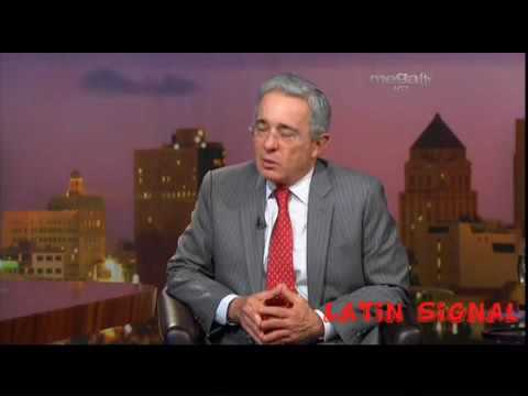 Jaime Bayly  entrevista al expresidente Álvaro Uribe Vélez
