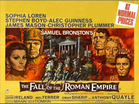 The Fall of the Roman Empire - Dimitri Tiomkin - The Persian Segment