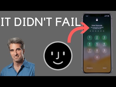 Face ID Fail? NOPE! // IT WORKED AS INTENDED