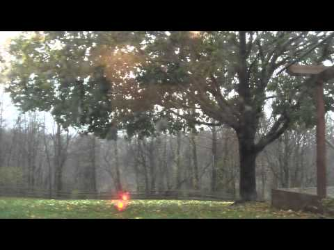 Hurricane Sandy in Howard county MD around 5pm