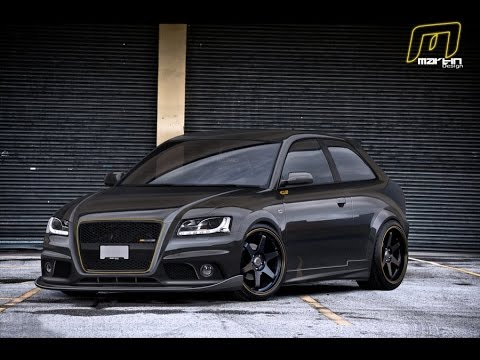 Custom Audi A3 Showcase Youtube
